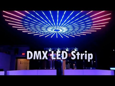 Dmx Led Strip By Sirs E Installed At Shine Club Mcallen Tx