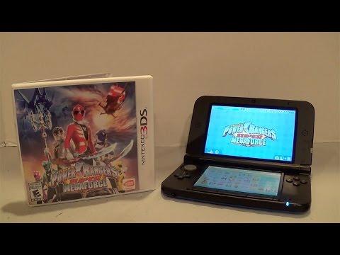 Power Rangers Super Megaforce 3DS Gameplay/Review [Power Rangers Super Megaforce]