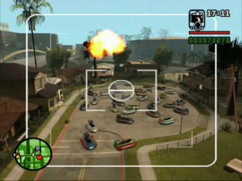 GTA-San andreas Explosión Nuclear