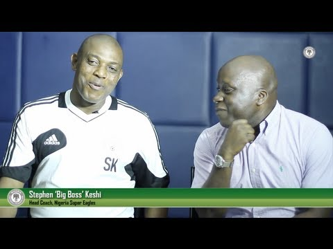 Hanging out with the Super Eagles: Stephen Keshi 'Quick-Fire' Interview