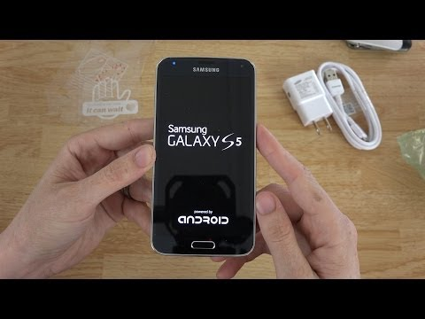 Samsung Galaxy S5 Unboxing and First Look!