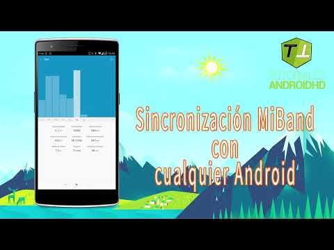 Sincroniza tu MiBand con cualquier Android