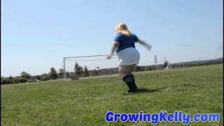 BBW Growing Kelly is your Calcio Cutie!