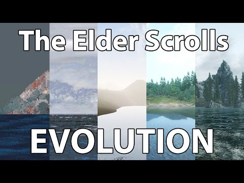 The Elder Scrolls Evolution – Arena Daggerfall Morrowind Oblivion & Skyrim Graphics Comparison