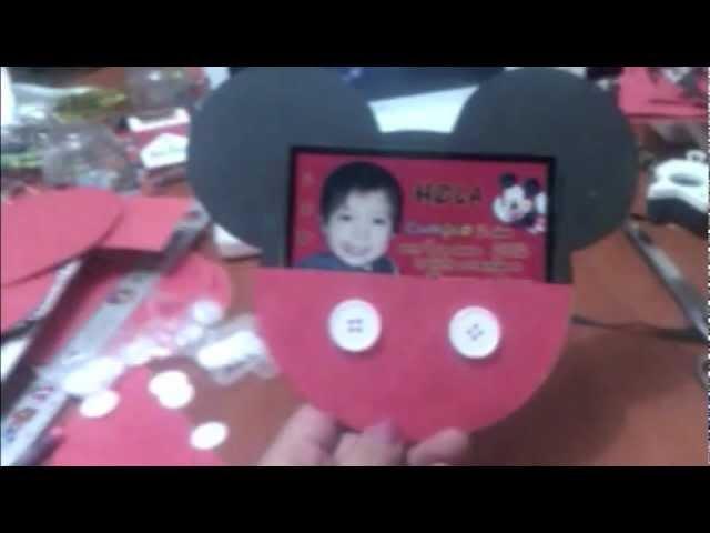 Invitacion - Sobre de Mickey