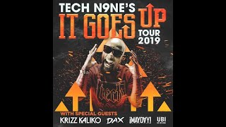 Krizz Kaliko - Anxiety (feat. Tech N9ne) LIVE (It Goes Up Tour 2019) Louisville, Ky