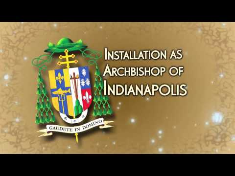 Installation of Bishop Joseph Tobin