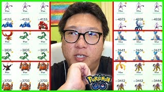 BRANDONTAN91'S MAX POKEMON COLLECTION - Pokémon GO