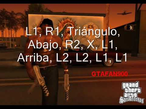 MUCHOS TRUCOS GTA SAN ANDREAS PS2