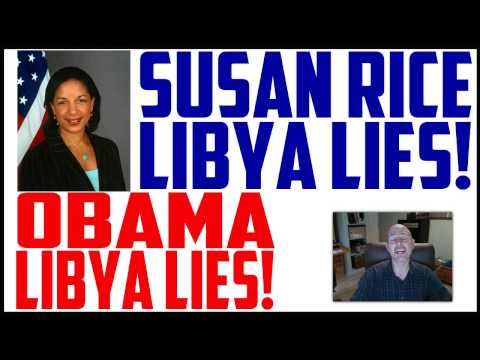 SUSAN RICE SUNDAY TALK SHOWS BENGHAZI LIBYA LIES - PETRAEUS ON TALKING POINTS - OBAMA LIES