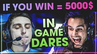 CS:GO - HILARIOUS IN GAME DARES! (INSANE CLUTCHES & FUNNY MOMENTS)