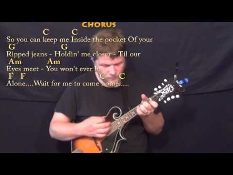 photograph (ed sheeran) mandolin cover lesson in c with