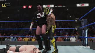 JMWE Friday Night SmackDown! Live: Fatal 4-Way (#1 Contender for the Intercontinental Championship)