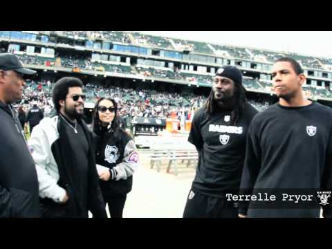 Ice Cube x Raiders 11/6/2011