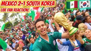 Mexico 2-1 South Korea LIVE Reaction From Los Angeles! World Cup 2018