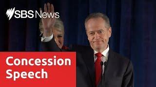 Bill Shorten's concession speech in full