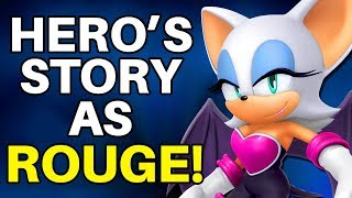Is it Possible to Beat Sonic Adventure 2's Hero Story While Only Playing as Rouge the Bat?