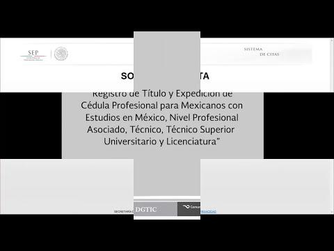 EXPEDICIÓN DE CÉDULA PROFESIONAL NIVEL TÉCNICO, TÉCNICO SUPERIOR UNIVERSITARIO Y LICENCIATURA