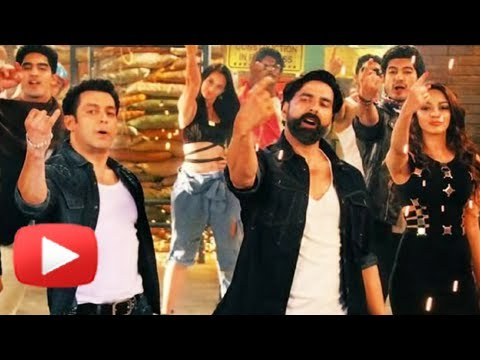 Salman Khan and Akshay Kumars Yo Yo Honey Singh Song|FUGLY Movie...