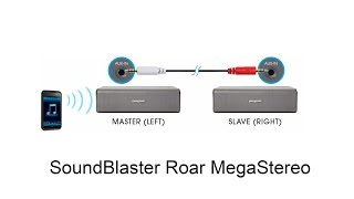 Creative MegaStereo Cable for Soundblaster Roar SR20 - audiotest and demo