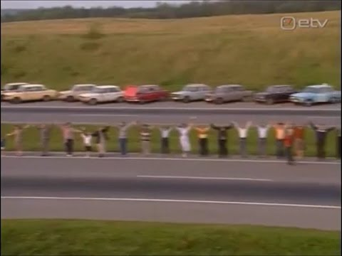 Балтийский Путь. Балтийская Цепь. 23 августа 1989.