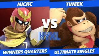 Smash Ultimate Tournament - NSM | NickC (Captain Falcon) Vs Tweek (Donkey Kong) NYXL SSBU W Quarters