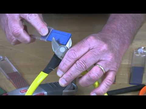 Video of Diamond Mini-Sharp® Sharpener – Sharpening Wire Snips
