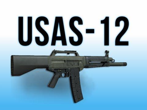Shotgun Mw3 Mw3 in Depth Usas-12 Shotgun