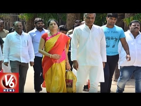 Minister Harish Rao To Inaugurate Mallamma Block in Srisailam Mallanna Temple | V6 News
