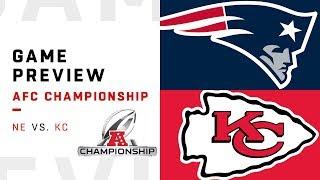 New England Patriots vs. Kansas City Chiefs | AFC Championship Preview | Move the Sticks