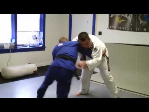 Zack B vs Marc - Grappling/Rolling session at Fusion Mixed Martial Arts Image 1