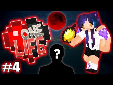 First Blood Moon & First Mystery Man Task!! - One Life Ep.4 (UHC & SMP Combined)
