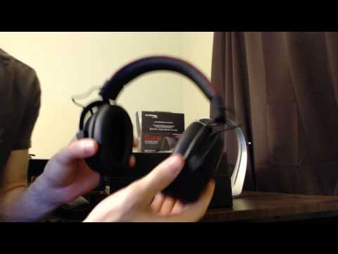 HyperX Cloud Gaming Headset Unboxing,Review and Mic Test