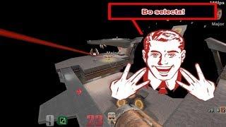 Quake 3 Arena skirmish against Major (difficulty: NIGHTMARE)
