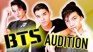 OFFICIAL BTS Boy Band Audition!