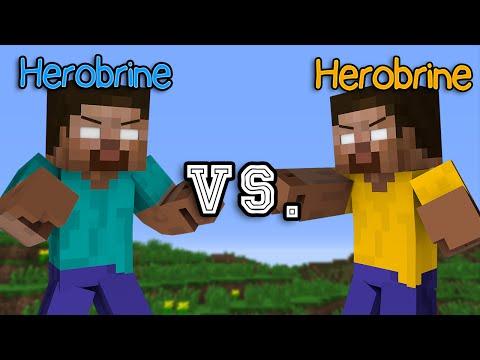 Herobrine vs. Herobrine - Minecraft Part 1
