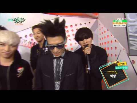 150515 BIG BANG 빅뱅   Backstage Interview @ Music Bank