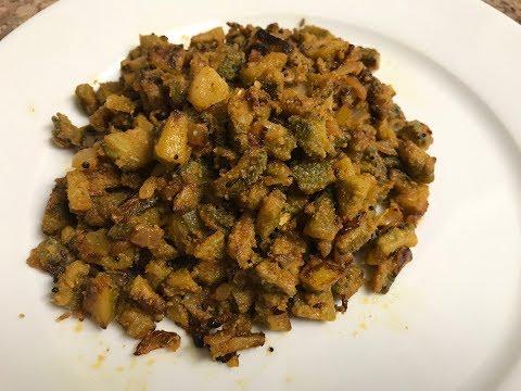 Veeramachineni (VRK) Diet - Kakarakaya / Bitter gourd fry  || By BB Chef