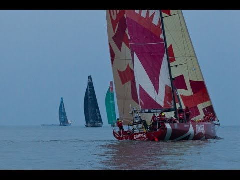 Sanya Leg 4 Staggered Restart Webcam Replay - 2011-12