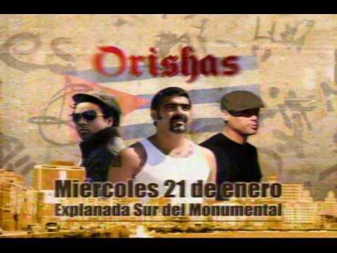 ORISHAS en CONCIERTO Lima Peru BARETO y LA MENTE
