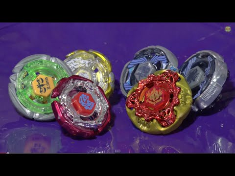 Battle: Team Gangan Galaxy Vs Team Excalibur - Beyblade Metal Masters video