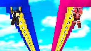 Minecraft ITA - LA CORSA DEI LUCKY BLOCK AL CONTRARIO!!