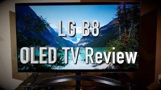 LG B8 (OLED55B8SLC) OLED TV Review