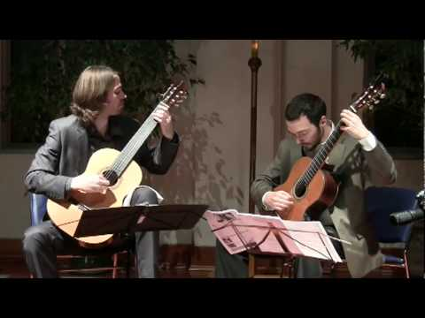 Henderson-Kolk Duo Play Lhoyer Duo Concertant in E minor 3rd movement