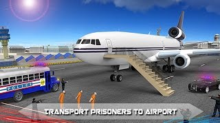 Police Airplane Prison Flight (by The Game Storm Studios) Android Gameplay [HD]