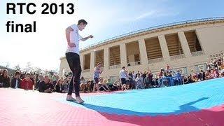 Russian Tricking Championship 2013 - Final (AlexD, Aleksey Volkov, Stanislav Kim)