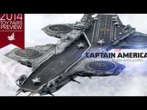 Captain America The Winter Soldier Hot Toys Helicarrier Revealed!