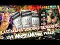 FIRST LAST MAN STANDING REWARDS! 3 WRESTLEMANIA 34 PULLS!| 3X PLATINUM PACKS!! WWE SuperCard