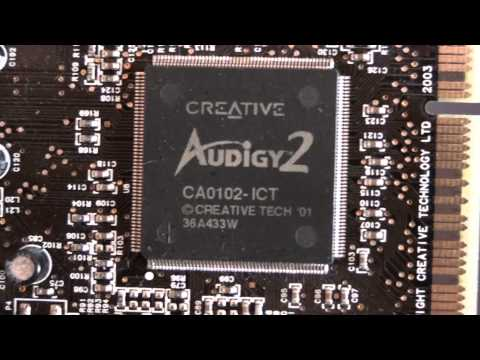 creative sound blaster audigy 2