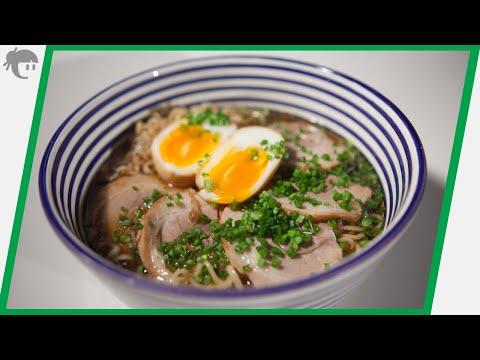 Como preparar Shoyu Ramen / Recetas de cocina japonesa